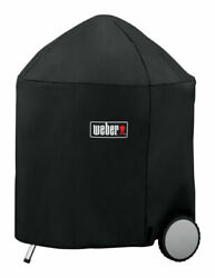 Weber Black Grill Cover For 26 Inch Weber Charcoal Grills 31.5 In. W -case Of 2