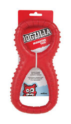 Dogzilla Red Monster Rubber Tug Toy Large 1 -case Of 24