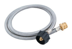 Grill Mark Stainless Steel Gas Line Hose And Adapter For Gas Grills 4 -pack Of 1