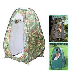 Us Pop-up Tent Privacy Shelter Outdoor Toilet Bathroom Camping Waterproof