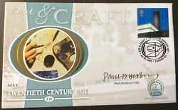 Paul Atterbury, Tv Antiques Roadshow Signed 2.5.2000 Art And Craft Fdc Tate Museum