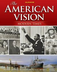 The American Vision Modern Times Student Edition By Mcgraw Hill Used