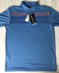 Pga Tour Golf Polo With Driflux Sunflux Motionflux Menandrsquos Small New
