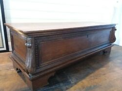 Antique Blanket Or Bridal Box Chest Florence Tuscany 18 Th Century Hall