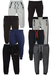 Superdry Mens Quality Joggers Gym Tracksuit Bottoms Sweat Pants Cuffed Joggers