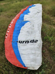 Paraglider Wing U-turn Infinity Ii S 60-90kg Dhv 1-2 With Check Untill 02/2022