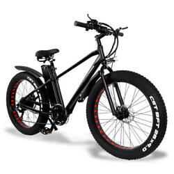 Cmacewheel Ks26 Electric Moped Bicycle 26 X 4 Inch Fat Tire Three Modes 750w