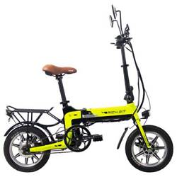Rich Bit Top-619 Folding Electric Moped Bike 14and039and039 Tires 250w Brushless Motor 35k