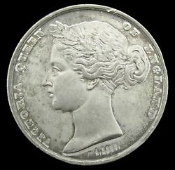 1862 Universal Exhibition London 50mm White Metal Medal - By Bovy