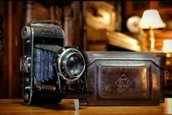 Mint Rare Franka Rolfix Ii 1940and039s Germany Work Mint Condition Mechanical W/ Case