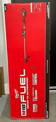 New Milwaukee M18 Fuel String Trimmer W/ Quik-lok 2825-20st Tool Only