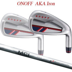 Special Order 20 Model Onov Red Iron Set Of Mci 90-110 Carbon Shaft Onoff Aka