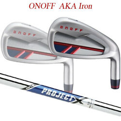 Special Order 20 Model Onov Red Iron Set Of Project Steel Shaft Onoff Aka