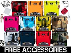 45qtw New Rugged+ Cold Bastard Towing Premium Cooler 11 Colors Free Gifts Accs