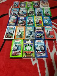 Thomas The Tank Engine And Friends Huge Lot Of 23 Vhs Tapes Vintage Var Conditions