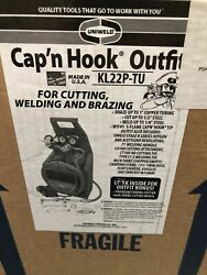 Uniweld Kl22p-t Welding And Cutting Kitwith Tanks