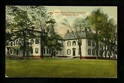 Freehold, New Jersey Nj Vintage Postcard Military Academy 82-14 The Real 5 And 10