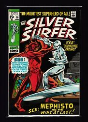 Silver Surfer 16 Vf/nm - Mephisto Appearance - Nick Fury - Fantastic Four