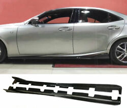 Type-am Tape Carbon For Lexus Is300 17-18 Xe30 Side Skirt Trim Extension Add On