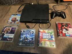 Sony Playstation 3 Ps3 Video Game Console Bundle