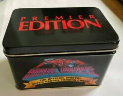 1990 Marvel Universe Series 1 Tin Complete Set, 162 Cards Free Shipping