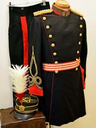 Army Formal Wear Set Lieutenant Infantry Excellent From Japan