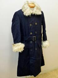 Japanese Navy Winter Cloak Official Supplies Excellent From Japan