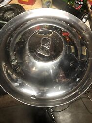 Two Hubs Late 40's Early 50s' Desoto Wheelcover/hubcap W/ Soldier Profile