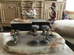 Ron Lee Andldquoclown And Dealerandrdquo On A Roulett Table 159/3500