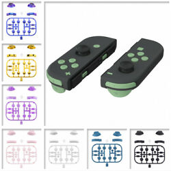 Replacement Keys Repair Full Set Buttons for Nintendo Switch Joy Con 36 Colors