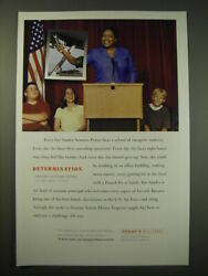 2005 U.s. Military Ad - Every Day Sandra Sessoms-penny Faces A School