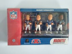 Forever Collectibles Nfl Qb Magnetic Mini Bobs Tom Brady Foco Vintage Rare Hot