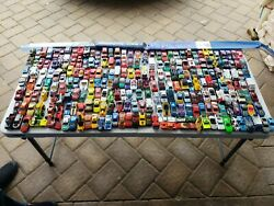 Vintage Lot Over 200 + Diecast And Toy Vehicles Cars, Trucks And .