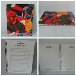 Breitling Watch Notebook Spiral Pad - Rare - Iconic Kevin T Kelly Pop Art - New
