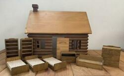 Sylvanian Families Initial Log Cabin House Bed Set Memory Time Calico Critters
