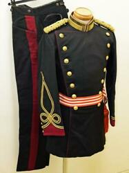 Japanese Army Formal Wear Hakama Engineer Lieutenant Excellent From Japan