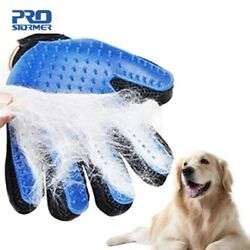 True Touch deShedding Glove for Gentle Efficient Pet Grooming Cleaning Animal ®