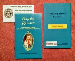 Pray The Rosary Booklet-new Expanded Edition W/luminous Mysteries By Fr. Lelen