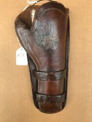 Vintage Antique Knox And Tanner Wyoming Leather Holster Colt Saa Single Action