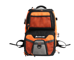 Ozark Trail Elite Durable Fishing Tackle Backpack With 360 And 350 Boxes