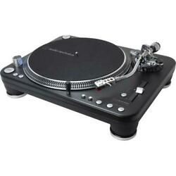 Audio-technica At-lp1240-usb Xp Professional Dj Direct-drive Turntable With At-x