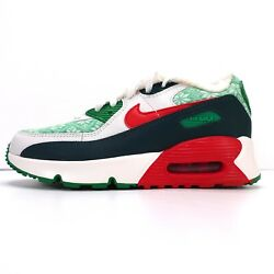 Nike Air Max 90 Ps Size 2y Nordic Ugly Christmas Sweater Dc1622 100 Pre School