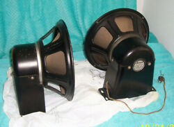 1930's Early 40's Jensen A-12 Field Coil Speaker 8 Ohm Nominal Imp. For One