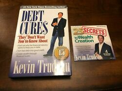 Debt Cures By Kevin Trudeau With 25 Secrets To Wealth Creation Audio Cd New