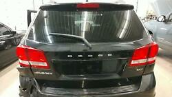 Tailgate / Trunk / Decklid For Journey Blk Heat Wipe Priv W-right Light