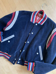 Embroidered Corduroy Bomber Jacket Nwt, L  Pg