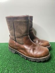 Ugg Australia Beacon Mens 11 Brown Leather Lined Outdoor Boots