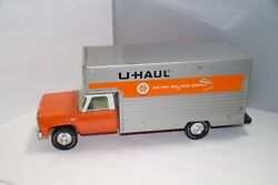 Vintage 1970and039s Nylint Pressed Steel U-haul Moving Box Truck Large 19 Must See
