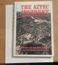 Very Rare The Aztec Incident Recovery At Hart Canyon Ufo W/ Bonuses Free Ship