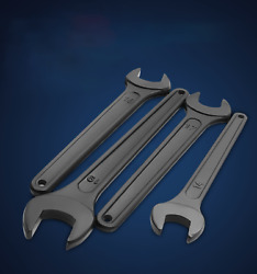 Hand Tools Single-head Open-end Wrench Machine Repair Hexagon Wrench 14 90mm